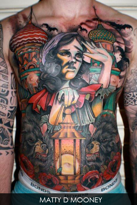 inkage-tatouage:  www.inkage.fr Artiste: Matty D Mooney
