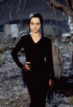 suicideblonde:  Christina Ricci in Addams Family Vlaues
