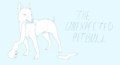 "Design for ""The Unexpected PitBull"": PitBull Rescue"