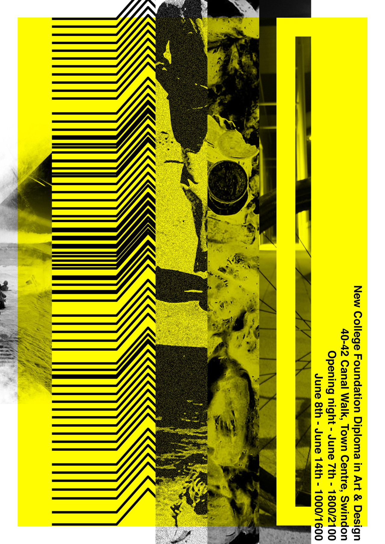 springtextures:  jtadesign:  Yellow edition.  So i designed the posters for my foundation diploma in art and design classes final exhibition. I made them a set of 4 showing the CMYK process. My personal favourites are yellow and the black.