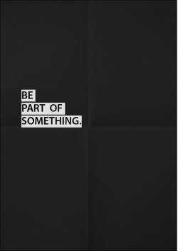 artcomesfirst:  Be Part of something - Art Comes First