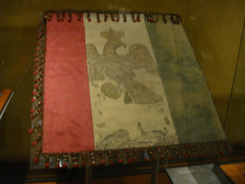 colibriverde:  first mexican flag ever! this thing is super old