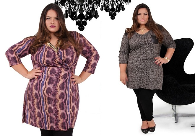 New ad campaign featuring gorgeous Brazilian plus-size model Mayara Russi, size 22 (44-43-53). Click here to see more.