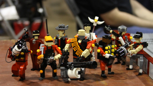 gamefreaksnz:  Lego Team Fortress 2 Image by Chanh Tang (via:itlego)