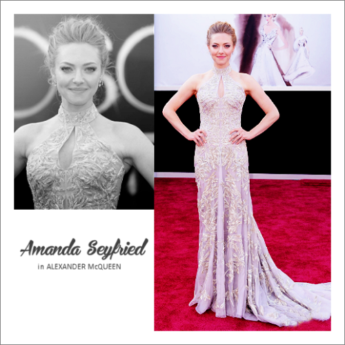 top 10 oscar dresses 06 | amanda seyfried in alexander mcqueen