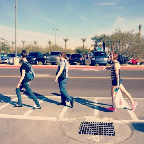 Abbey Road attempt, @takohead16 @tompettylover