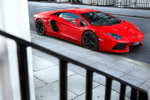 alexpenfold:  That Red One. on Flickr.