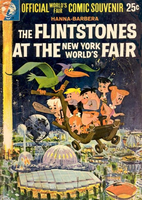 The Flintstones at the New York World's Fair