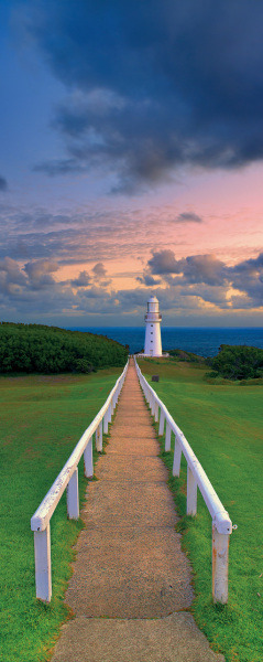 (via Cape Otway Lighthouse, Vic - Ken Duncan Panographs)