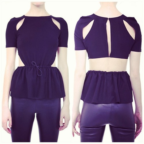 #DaniellaKallmeyer 'a Drawstring Riviera top is super genius to me ($367.50) YES or No ? Opinions please !