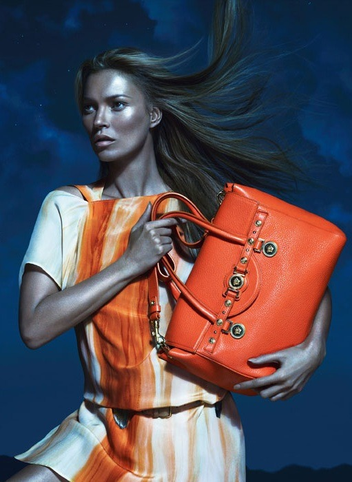 Kate Moss for Versace S/S 2013 Campaign