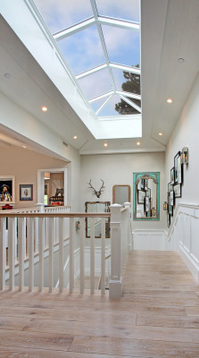 georgianadesign:  Waverly stairway - atrium, Orange County. Brandon Architects and Patterson Construction. (The inside of this home.)