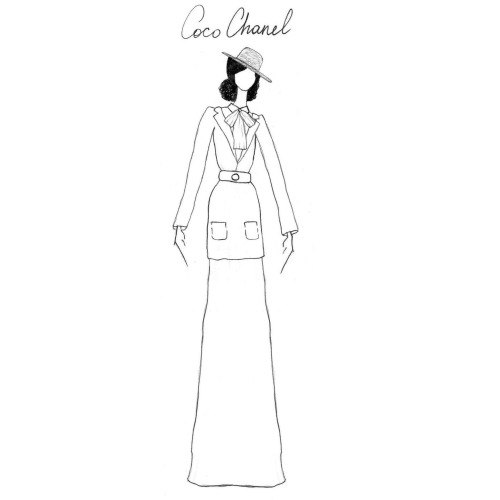 antonietamoderna:  Once Upon A Time… - Gabrielle (Coco) Chanel
