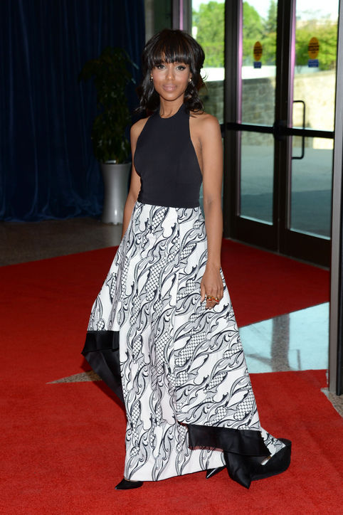 Kerry Washington in Wes Gordon Fall 2013