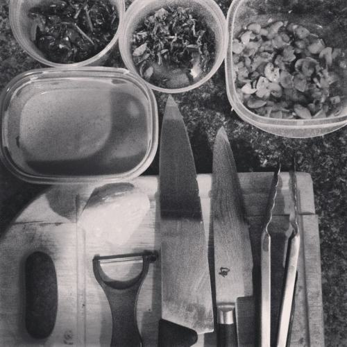 mise en place  fitting for a first post this blog will be a place to chronicle experiences, as they happen, en place.