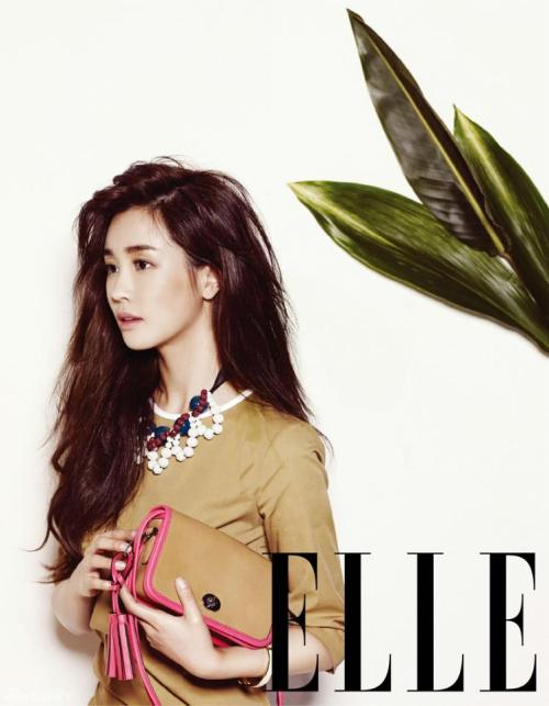 Elle Korea Model: Lee Da Hae April 2013