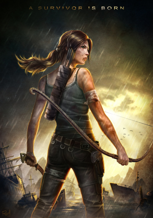 "Fanart: ""Tomb Raider Reborn"" by Guybrush4EVER"