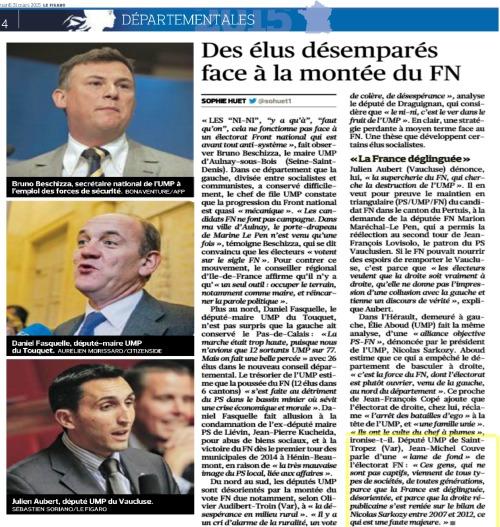 Le Figaro 31 mars 2015