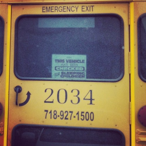 #lol #funny #laugh #haha #sign #school #bus #yellow #new #jersey #shopping #mall #gsp #garden #state #plaza #apple #iphone