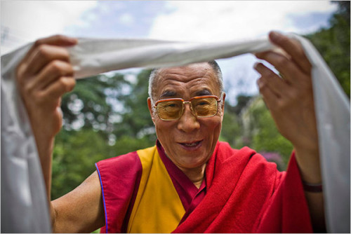 "The Medicine of Altruism - words by His Holiness the Dalai Lama ""When I consider the lack of cooperation in human society, I can only conclude that it stems from ignorance of our interdependent nature. I am often moved by the example of small insects, such as bees. The laws of nature dictate that bees work together in order to survive. As a result, they possess an instinctive sense of social responsibility. They have no constitution, laws, police, religion or moral training, but because of their nature they labour faithfully together. Occasionally they may fight, but in general the whole colony survives on the basis of cooperation. Human beings, on the other hand, have constitutions, vast legal systems and police forces; we have religion, remarkable intelligence and a heart with great capacity to love. But despite our many extraordinary qualities, in actual practice we lag behind those small insects; in some ways, I feel we are poorer than the bees…To me, it is clear: a genuine sense of responsibility can result only if we develop compassion. Only a spontaneous feeling of empathy for others can really motivate us to act on their behalf.""  ________________________________________________________________________________ Click here to read the full quote on dalailama.comphoto credit: BodhiFestvia Ethnobeeology"