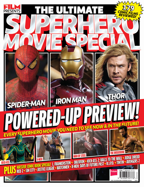 The Ultimate Superhero Movie Special: out now Are you a fan of capes, comic books, heroic part-time vigilantes and larger-than-life villains? Then we've got the special for you…