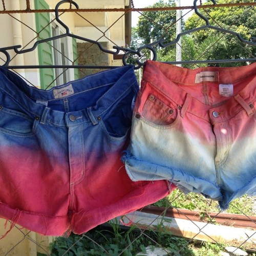 Beat the #summer heat. Wear ombre shorts from TMO. Plain ombre shorts (no additional tatter and no studs) are for P300 only. Grab one now!