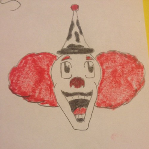 My #1 fear #hate #clowns #scary #fearful