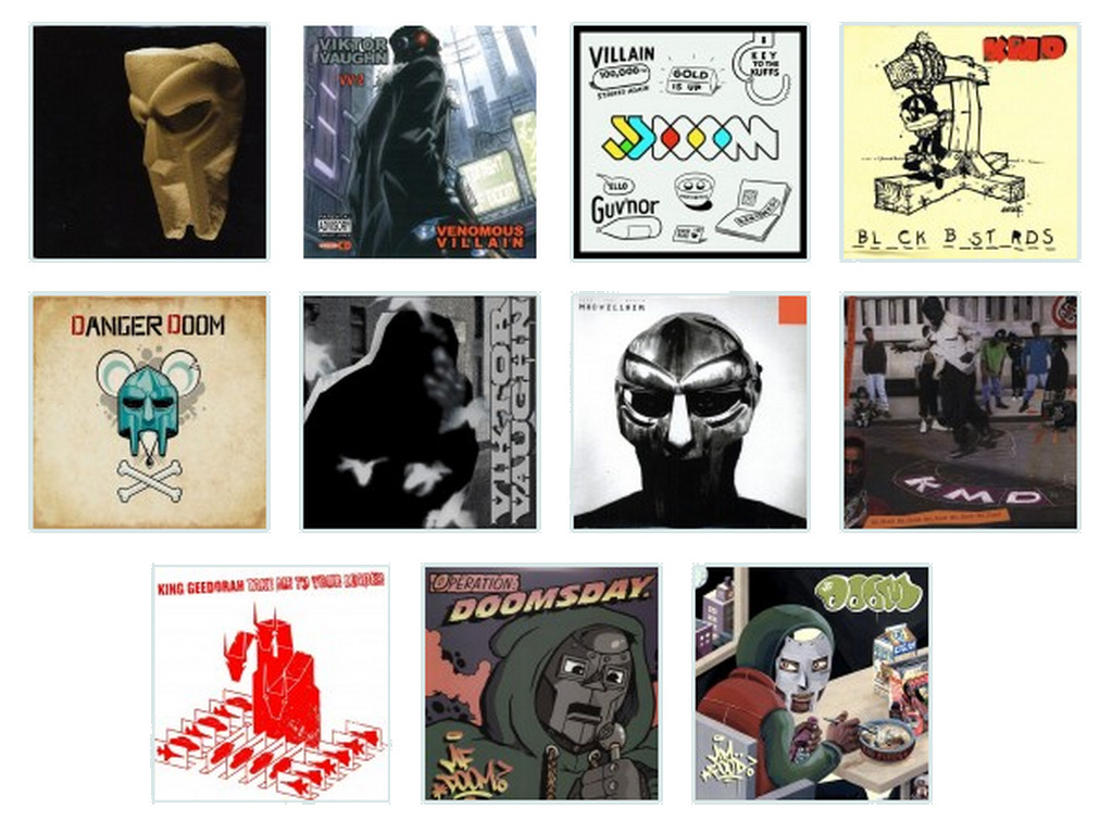 Counting Down: MF Doom Albums from Worst to Best (via @stereogum)