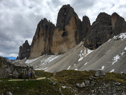 It's a quick, easy, and utterly unforgettable run around Tre Cime in Italy's Dolomites. Photo: Bryon Powell