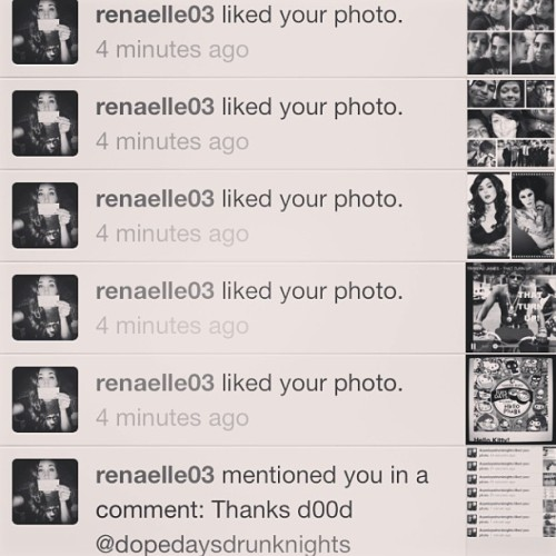 My nigga @renaelle03 just made a shoutout then rtf'd. She a bad bish. #shoutout
