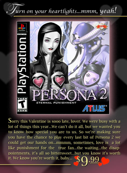 Persona 2: Eternal Punishment Hits PSN Tomorrow.  Correction; It's already out.