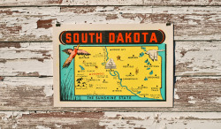 South Dakota by Steady Print Shop Co.