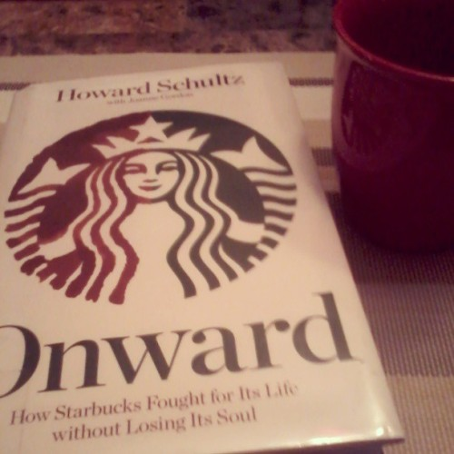 Morning dates. A good book and a cup of coffee. #Onward #Starbucks #coffee #books