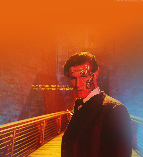 timeywimeyness:  Hail to you, the Doctor, Savior of the Cybermen!