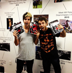 imlostinemptypillowtalkagain:  ethika Thanks @jackalltimelow and@riandawson for stopping by the office and making Friday a little more interesting! All Time Low tonight in San Diego! #ethika #withyoueverywhere #alltimelow