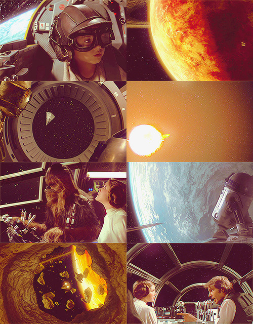 sonata-for-a-popcorn:   Screencap Meme → Star Wars + Space  Requested by myo-da-soocha
