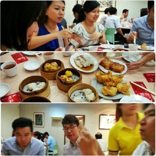 Lunch Excursion today lol #dimsum #foodporn #singapore #instafood #instagood #potd #foodporn