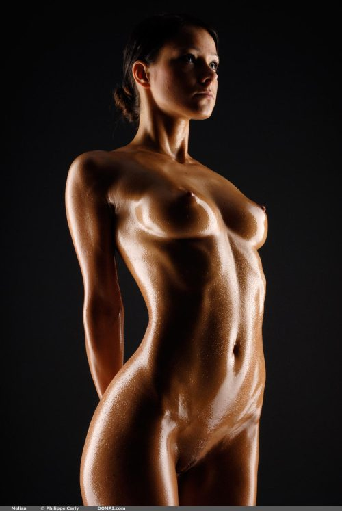 xplicit69:  Melisa - Sculpture - Oiled Perfection.