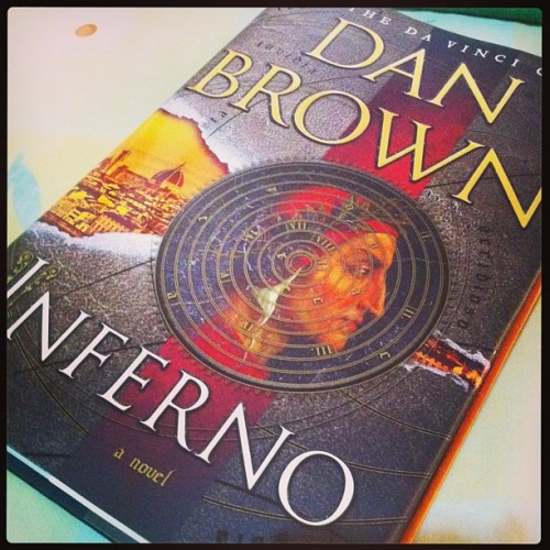 Yey, got a copy already. It's been a while.  :) #Inferno #book #DanBrown