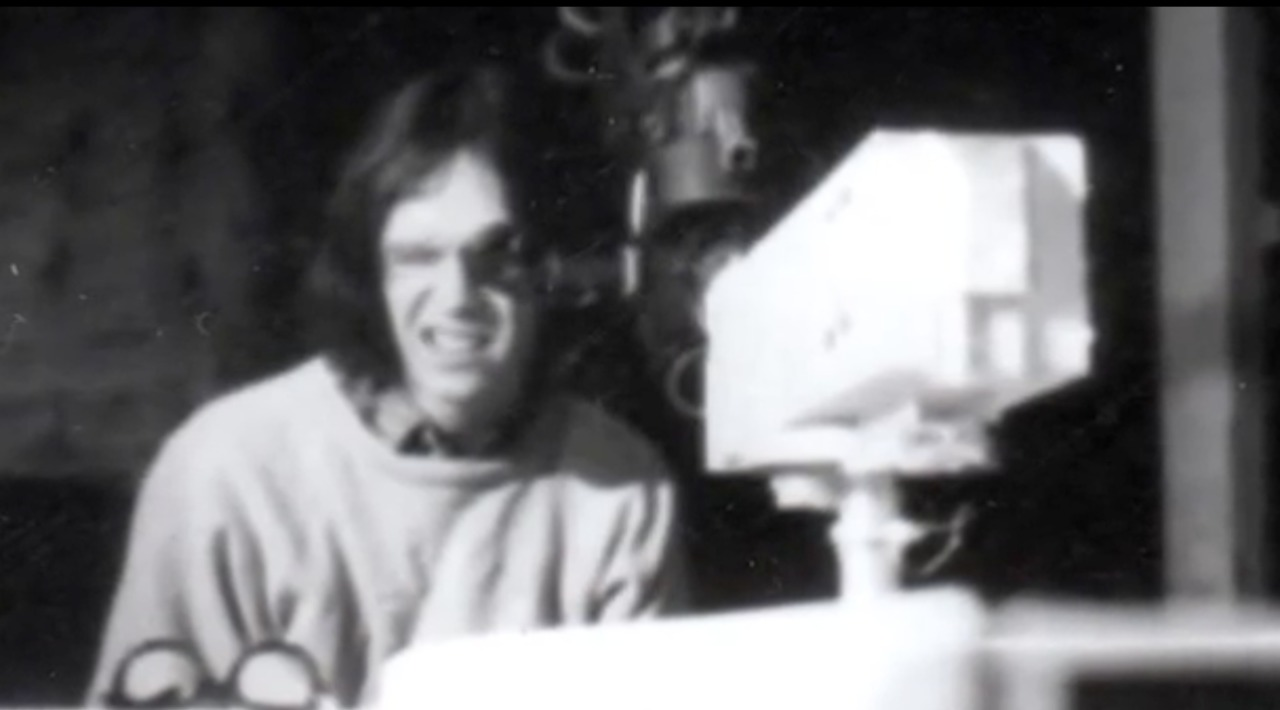 John Carpenter directs Bomb #20. (from Let There Be Light: The Odyssey of Dark Star)