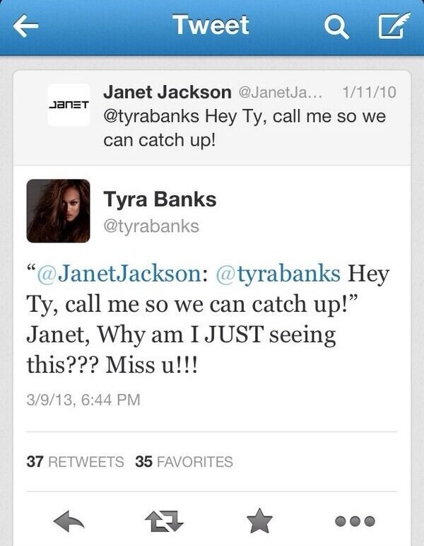 Janet Jackson - Peep when Janet Jackson posted it though, lmfaoooo