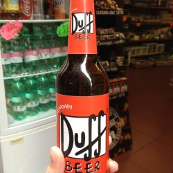 soletheshoe:  #duff #beer #italy #simpsons
