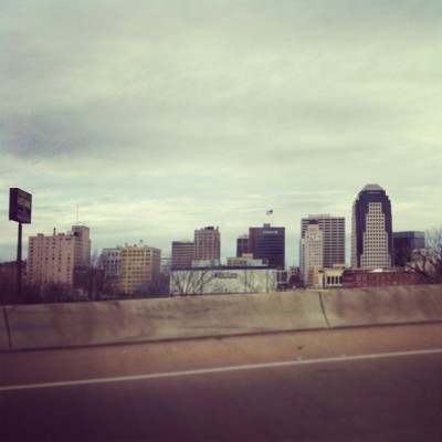 Shreveport Louisiana is slightly impressive with a skyline.