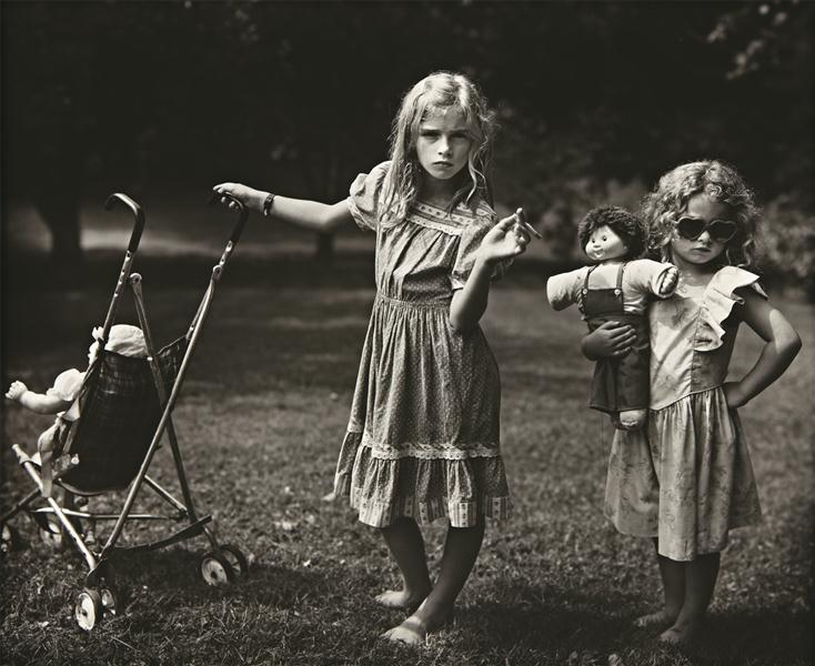 suicideblonde:  The New Mothers by Sally Mann