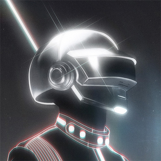 high-candy:  Daft Punk