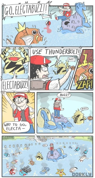 This Electabuzz Received So Much Experience
