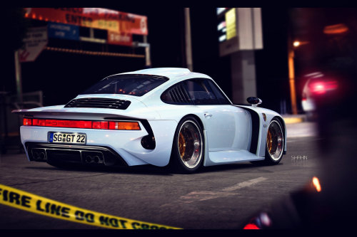 myheartpumpspetrol:  porsche 959 moby dick by tuniger at X