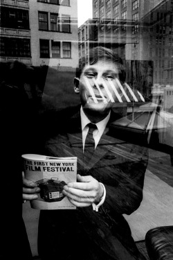 fuckyeahdirectors:  Roman Polanski at the first New York Film Festival, 1963