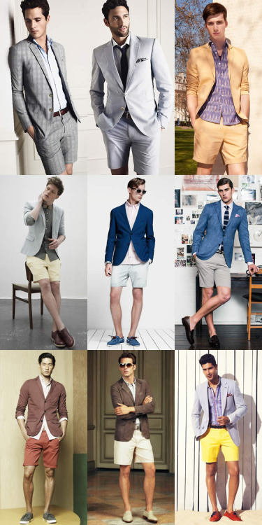 SS13 Trend 1:Tailored shorts and short jackets