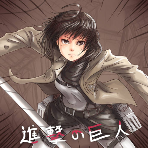 Mikasa, just because